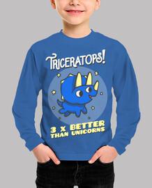 triceratops 3 veces mejor que los unico