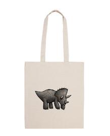 triceratops! bolso de bandolera
