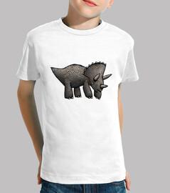triceratops! niños camisetas