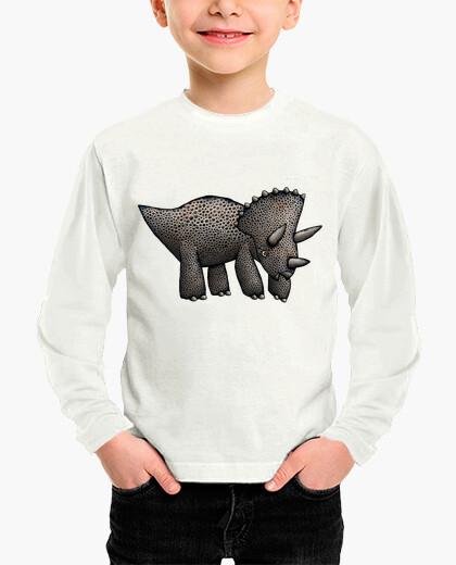 Ropa infantil triceratops! niños camisetas