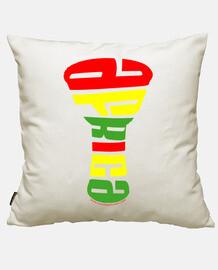 tricolor djembe