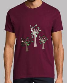 Trío de árboles