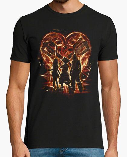 Camiseta trío unido