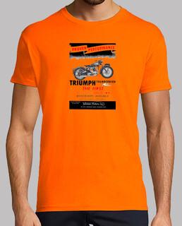TRIUMPH First Vertical Twin - Naranja