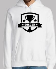 trofeo de campeón de fútbol