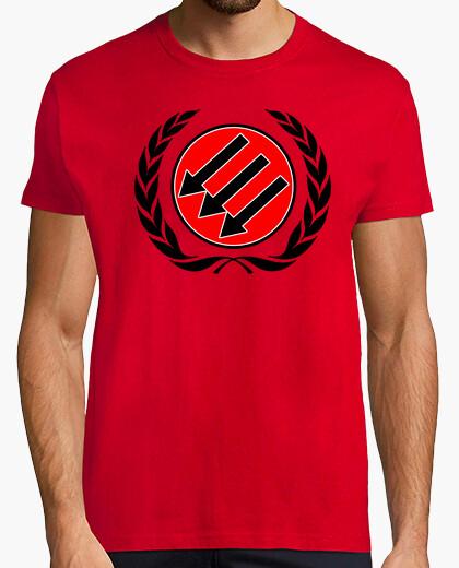 Tee-shirt trois flèches antifascismo 3