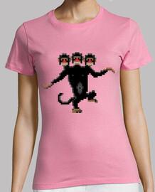 trois têtes de singe (femelle)