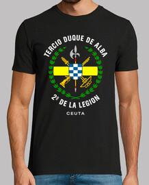 troisième  tee shirt  2e légion mod.1
