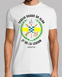 troisième  tee shirt  2e légion mod.2