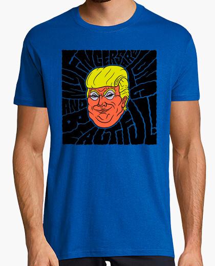 T-shirt tromba di dump - dita