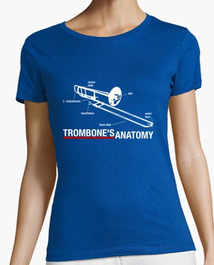 Trombones anatomy t-shirt
