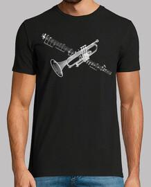 trompette et partition