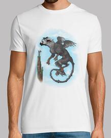 tronic volo t-shirt da uomo