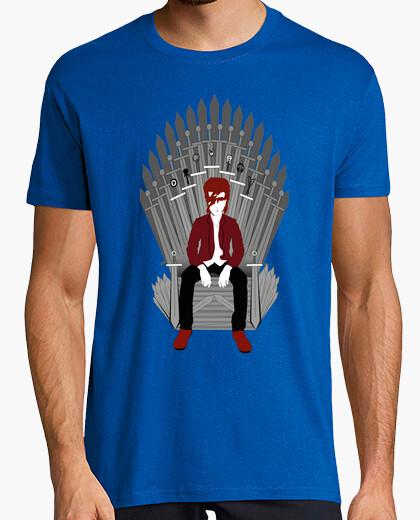 Camiseta trono bowie hombre