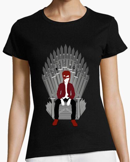 Camiseta trono bowie mujer