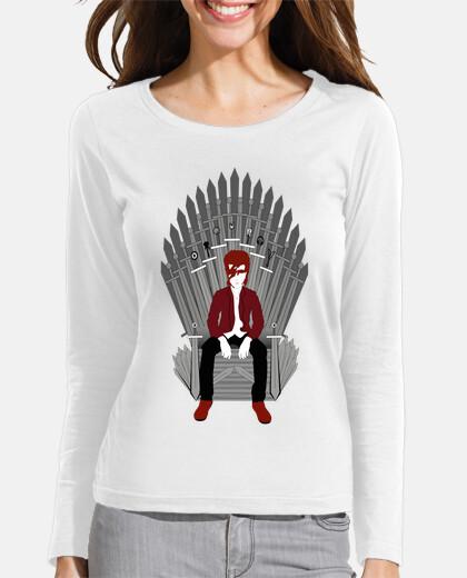 trono bowie mujer