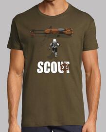 trooper scouts - camisa de hombre