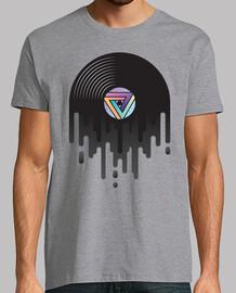 tropfendes Vinyl