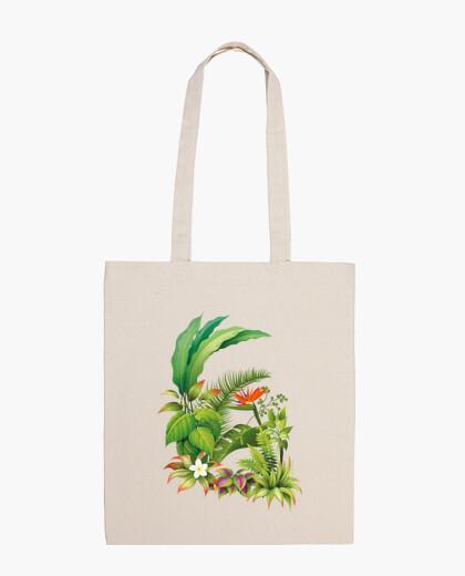 Sac Tropical / fleurs / plantes