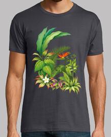 tropical / flowers / plants