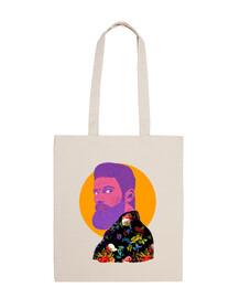 tropical beard - bag