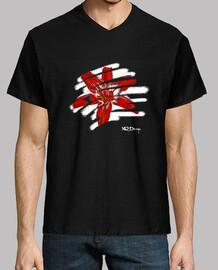 tropical flower men's t-shirt - t-shirt