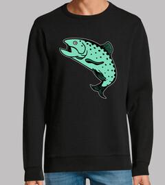 trucha trucha salmón salmón
