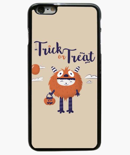 Truco o trato, Funda iPhone 6 Plus / 6S Plus 6 Plus, negra
