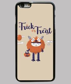Truco o trato, Funda iPhone 6 Plus, negra