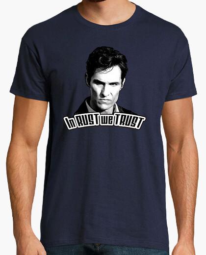 True detective - in rust we trust t-shirt
