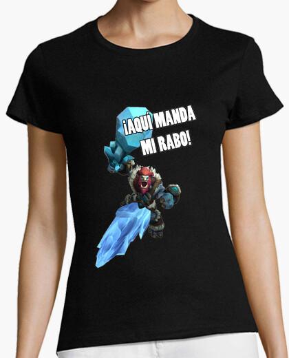 Camiseta Trundle: ¡Aqui manda mi rabo! - Chica