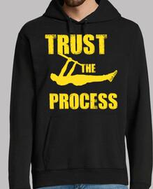 Trust The Process Yellow