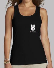 Trvp Rabbit - White Bunny Mujer Tirantes