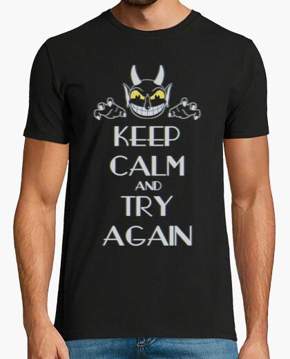 Camiseta Try again