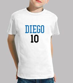 tshirt calcio - calcio - diego 10