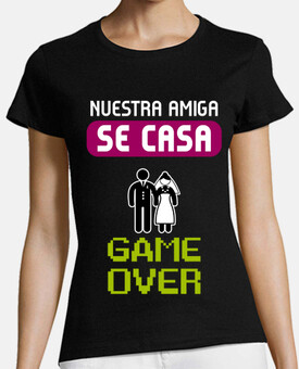 t-shirt gallina gioco over