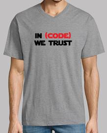 Tshirt Geek - In code we trust
