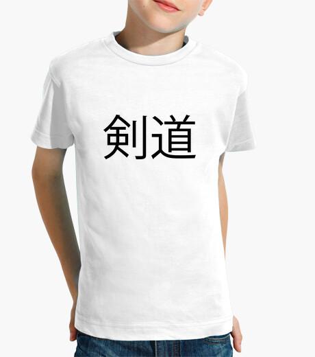 Tshirt kendo - martial arts - fighter children's clothes