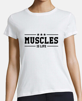 T-shirt Musculation - Culturisme - Muscles