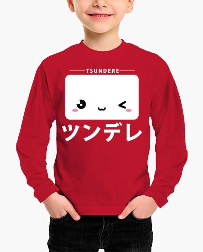 Ropa infantil Tsundere kawaii katakana
