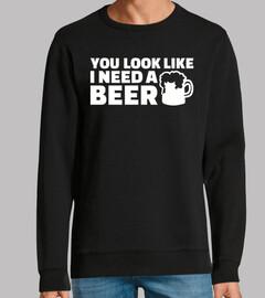 tu as l'air d'avoir besoin d'une bière