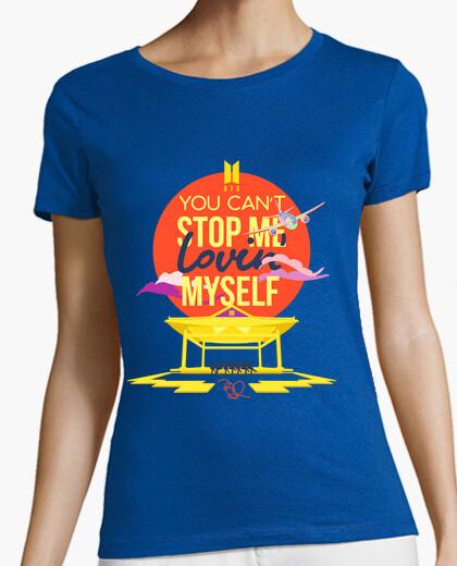 Tee-shirt tu can m39arrêter de m39aimer - bts