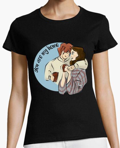 Tee-shirt tu es ma maison - t-shirt