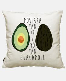 Tú tan mostaza y yo tan guacamole
