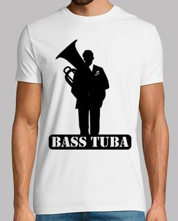 tuba bass t-shirt
