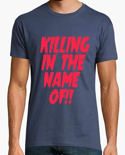 Tee-shirt tuer au nom de!
