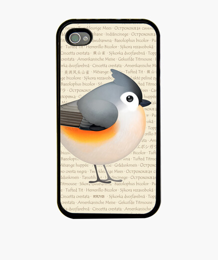 Cover iPhone tufty baeolophus