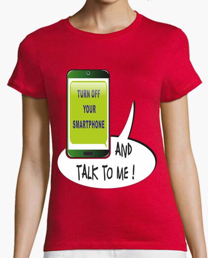 Camiseta turn off your smartphone