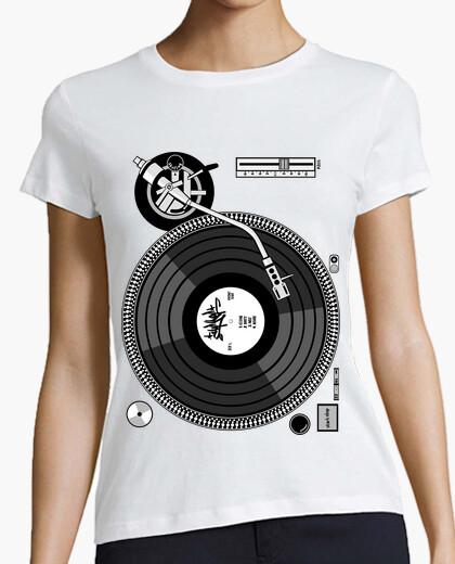 Camiseta Turntable - Plato (Hip Hop)