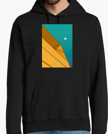 Turquoise Sky. Aplícalo sobre diferentes colores de sudadera con y sin capucha.